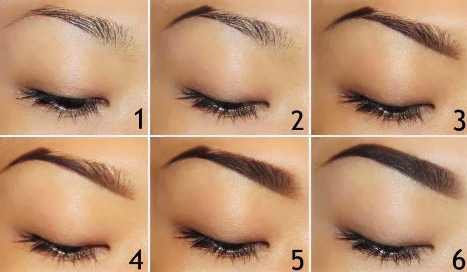 Как сделать красивые брови если они короткие